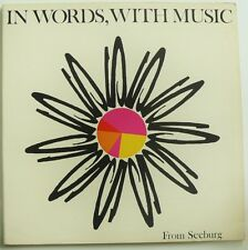 """SEEBURG - IN WORDS WITH MUSIC - rare 12"""" G/F LP '66 Library Music Compilation VG"""