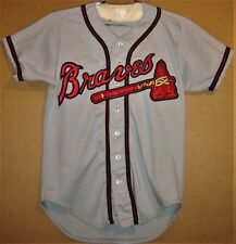 Atlanta Braves #8 Minor League Farm Club Gray Tomahawk Style Jersey