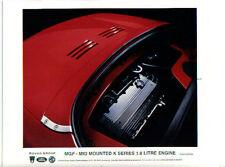 MG MGF K series 1.8 litre engine 1995 original colour Press Photo Pub. No. 558