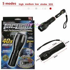 Bell + Howell taclight 40 x Brighter Haute Puissance tactique Lampe torche 2018