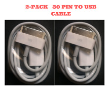 2 x 1M Original 30-Pin To USB Charge Sync Cable Charger for Apple iPhone 3G 4 4s