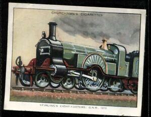 Tobacco Card, Churchman, LANDMARKS IN RAILWAY PROGRESS, 1932,1st Series,Large,#8