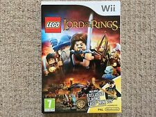 Lego Lord Of The Rings + Elrond Figure - Nintendo Wii Brand New UK PAL