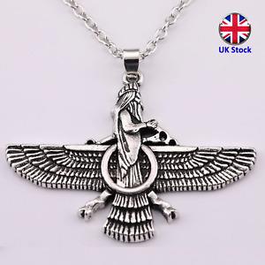 Ahura Mazda Necklace - Zoroastrianism Deity & Yasna Spirit aka Ormuzd & Hormazd