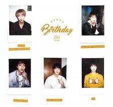 Individual BTS Jin Birthday Polaroids (방탄소년단, Bangtan, Beyond the Scene)