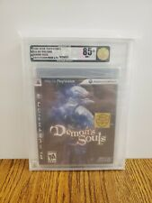 Demon's Souls w/gold sticker, book, and CD - VGA 85+ Gold - very rare, mint!