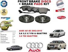 für Audi A8 4E 2.8 3.2 3.7 3.0 TDI 320mm Vorderbremse Scheibensatz +