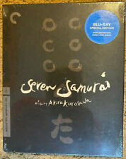 Seven Samurai Criterion Collection (Blu Ray)