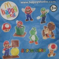 McDonalds Happy Meal Toy 2013 Super Mario Characters Plastic Toys - Various