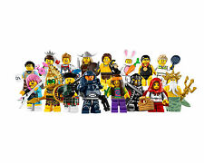Lego Minifigures Serie 7 , 8831 Completa - Complete Series 7