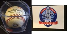 2018 LOS ANGELES DODGERS 60TH ANNIVERSARY BASEBALL CUBED RAWLINGS + L.A. STICKER