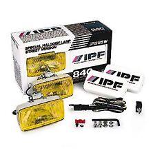 ARB IPF SMALL RECTANGULAR FOG LIGHT KIT 840FYS 85w Bulbs, Hardened Glass Lens