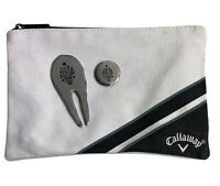 Callaway Golf Zipped Valuables Pouch - Pitch Fork - Ball Marker Lux Amor Pax