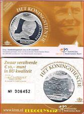 NEDERLAND - COINCARD 10 € 2013 BU - KONING WILLEM-ALEXANDER