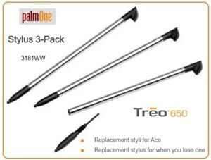 PalmOne Stylus Pen Pack for Treo 650 / 700 & More (3 Pack) - 3181WW