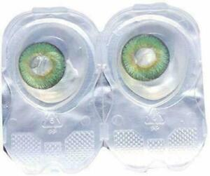 Green Contact lens & Kit Zero Power Free Lens Solution for Sexy eye party.