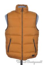 $495 COACH Mustard Orange DOWN PUFFER VEST Full Zip  F85142 NWT - SMALL
