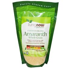 Amaranth Whole Grain - 454g by Now Foods - Organic & Gluten-Free