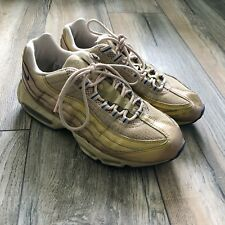 Nike Air Gold Max 95 Men Size 9.5 Kashima Gold Sneakers Shoes Japan Authentic