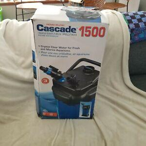 Cascade Aquarium Canister Filter - Cascade 1500
