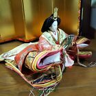 Japanese Hina doll Princess Queen in Kimono Figure Plush Royal Wedding GORGEOUS