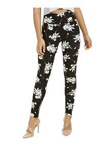 "👖 Small (2-4) Wt 27""🔴 Macys INC International Concepts Flower Print Leggings"