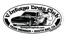 Drag Racing NHRA Sticker Decal Funny Car 5 inch oval