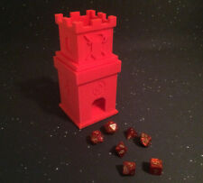 Dice Tower Roller 2 story Castle Staircase (2 Parts 3D Printed) Board Games
