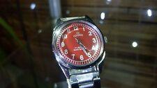 ROAMER Swiss Vintage Wrist Watch Red Dial - Refurbished