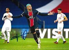 Kylian Mbappé PSG signed Autographed autograph