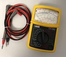 Multimetre Chauvin arnoux 5001