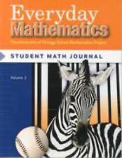 Everyday Mathematics Grade 3 Student Math Journal Set New