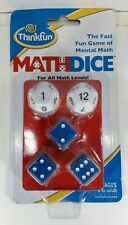 Thinkfun Math Dice Educational Game Ages 8 to Adult NEW