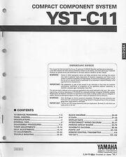 Yamaha YST-C11 / Service Manual / Anleitung