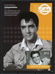 Antigua & Barbuda 2015 MNH Elvis Presley His Life in Stamps Music 1v S/S III