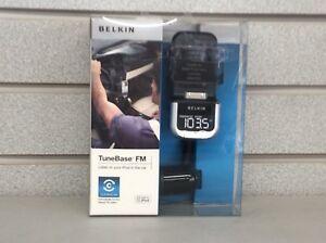 Belkin Tune Base FM Listen To Your IPOD In Car 120-0770