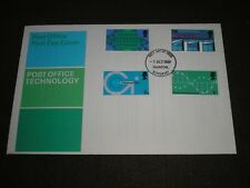 1969 GB stamps POST OFFICE TECHNOLOGY FDC TAUNTON - SOMERSET FDI Cancel format#2