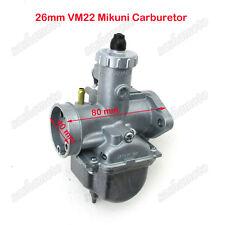 Mikuni VM22 26mm Carburetor For 125cc 140cc Pit Dirt Bike XR50 CRF70 Motorcycle