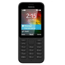 BRAND NEW MICROSOFT NOKIA 215 UK SIM FREE UNLOCKED MOBILE PHONE BLACK A00025315