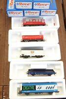 Roco 41155 Konvolut 5 Stück günstige Güterwagen der DB AG Ep.5/6 NEM,KKK, in OVP