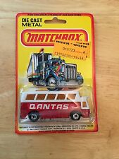 New On Card 1980 Matchbox #65 Airport Bus Blister Pack