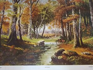 Autumn By P. Bucken Copyright Pic Review 1925