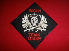 """Vietnam War Patch 5th Special Forces Gp MACV-SOG RT ILLINOIS """"RECON TEAM LEADER"""""""