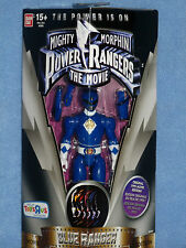 "Mighty Morphin Power Rangers Legacy Movie Blue Ranger 5"" action figure bnib"