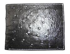Tobin Marcus Genuine OSTRICH WALLET RFID Blocking Cobaltex Handmade GIFT Mens