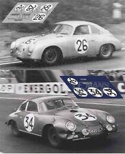 Calcas Porsche 356 Le Mans 1956 26 34 1:32 1:24 1:43 1:18 slot decals