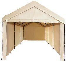 Full Canopy Garage 10x20 Carport Car Shelter Big Heavy Duty Tent Portable Cover