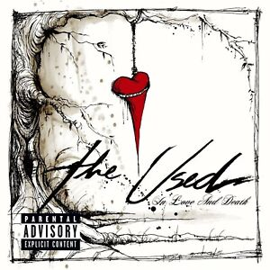 THE USED In Love And Death 2004 CD TAKING BACK SUNDAY GOOD CHARLOTTE FINCH