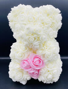 Happy Valentines Day Teddy Bear Valentines Gift Roses Bear Dia Mother's Day Gift