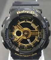 Casio Women's Baby-G Gold Tone Watch BA110-1A - Retail $120 (40% off)